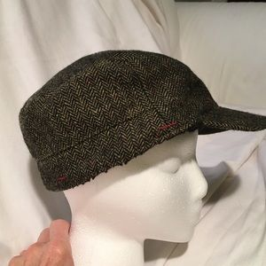 Scalia Classics Tweed Paperboy Cap Wool Blend
